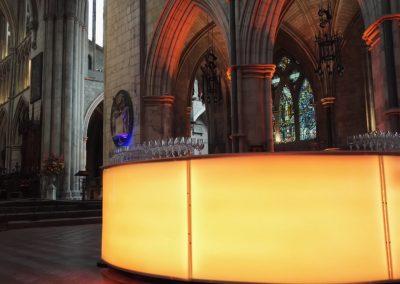 Gold light bar